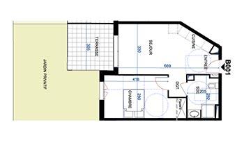 Plan Appartement 85m2